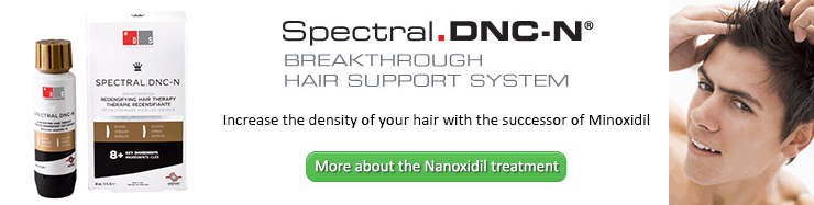 Spectral.DNC-N with Nanoxidil, increase the density of your hair with the successor of minoxidil