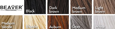 Keratine Hair Fiber Colors